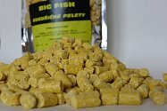Big Fish - Kukuřičné pelety Corn Pellets 8 mm - 1 kg